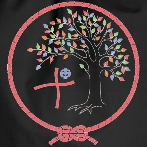DPSG Mecklenbeck neues Logo - Turnbeutel