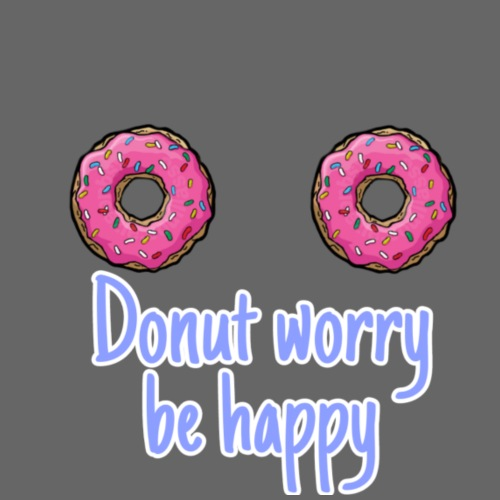 DONUT WORRY BE HAPPY - Mochila saco