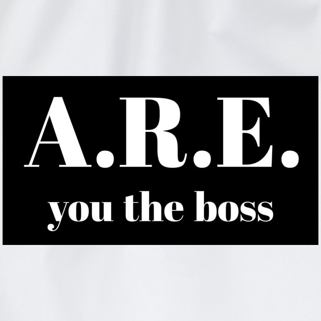 AREyou the boss