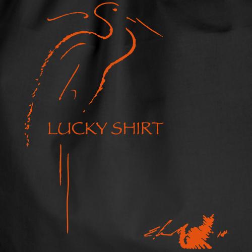 LUCKY SHIRT ROSSA - Sacca sportiva