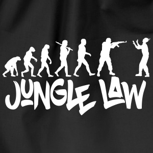 JUNGLE_LAW - Turnbeutel