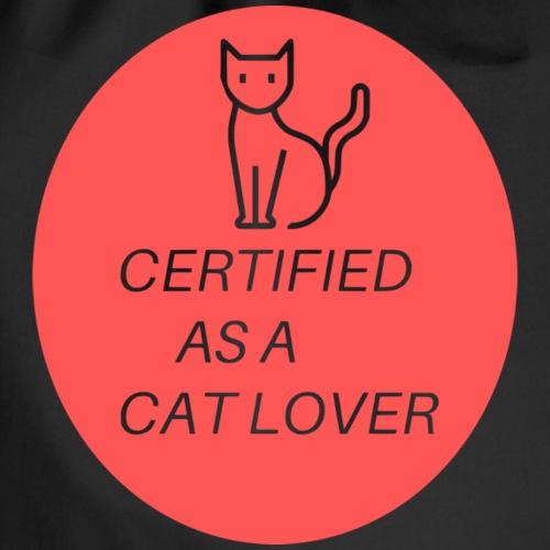 Certified as a Cat Lover - Mochila saco