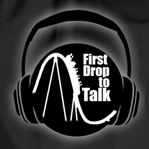 First Drop to Talk Logo - Turnbeutel