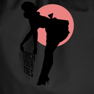 Vintage Girl - Touch Your Toes! - Sac de sport léger