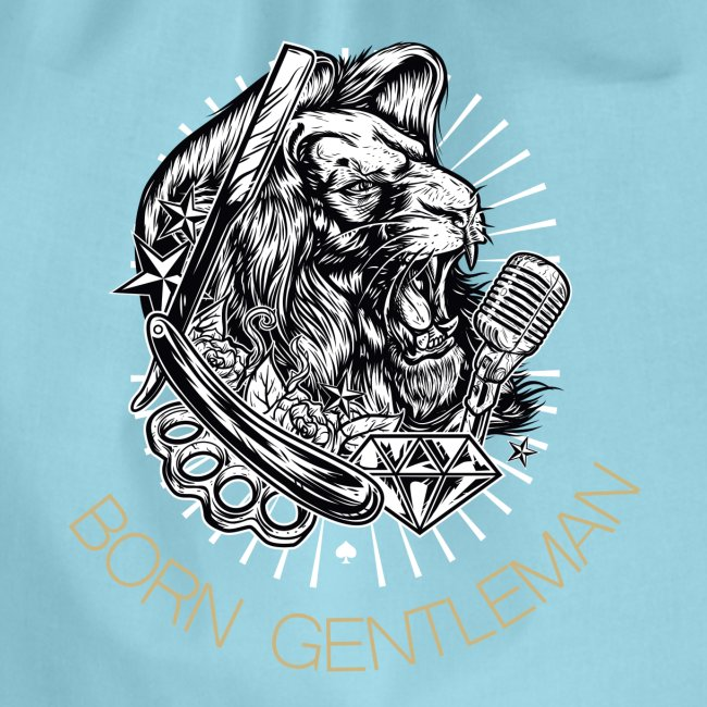 Born Gentleman Lion Design