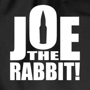 Joe The Rabbit! Logo - Drawstring Bag
