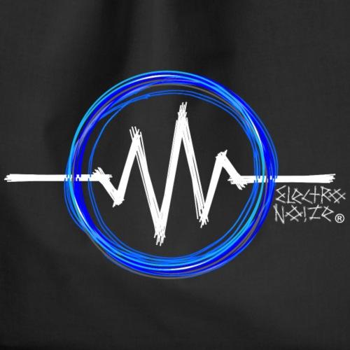 ElectroNoize Logo BLUE PX - Turnbeutel