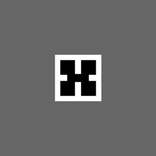 Inverted XRhodes Films Logo 2019 - Drawstring Bag