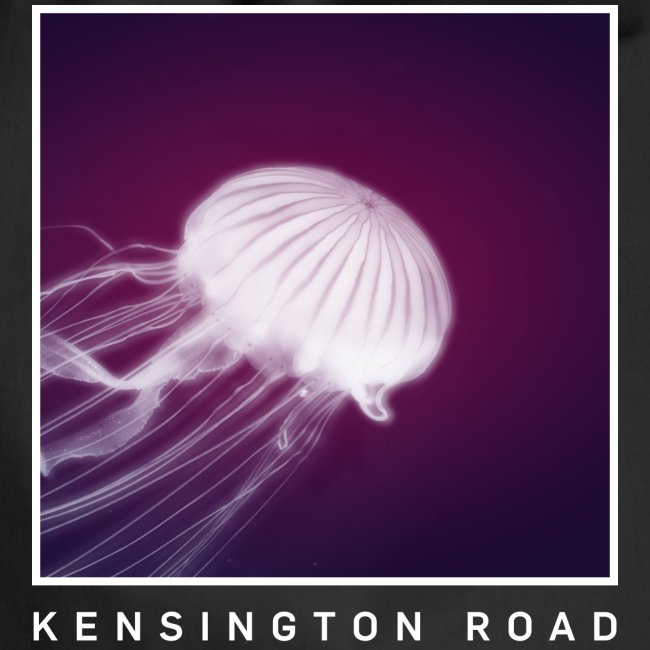 "KENSINGTON ROAD ""WHITE VIOLET JELLYFISH"""