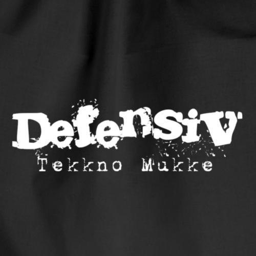 Def3ns!v Tekkno Mukke - Turnbeutel