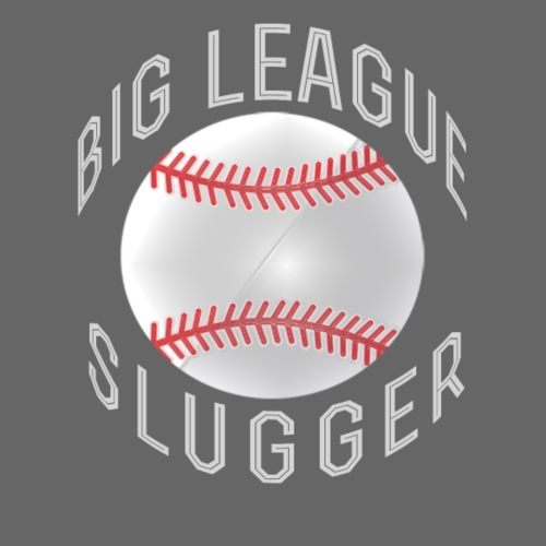 big league slugger baseball shirts - Drawstring Bag