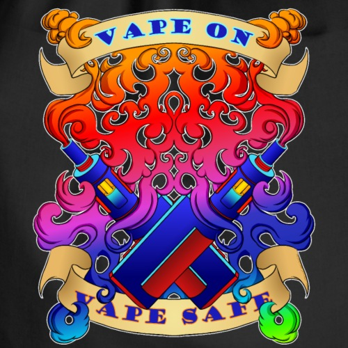 Vape On, Vape Safe - Turnbeutel