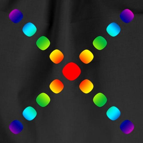 regenbogen X - Turnbeutel