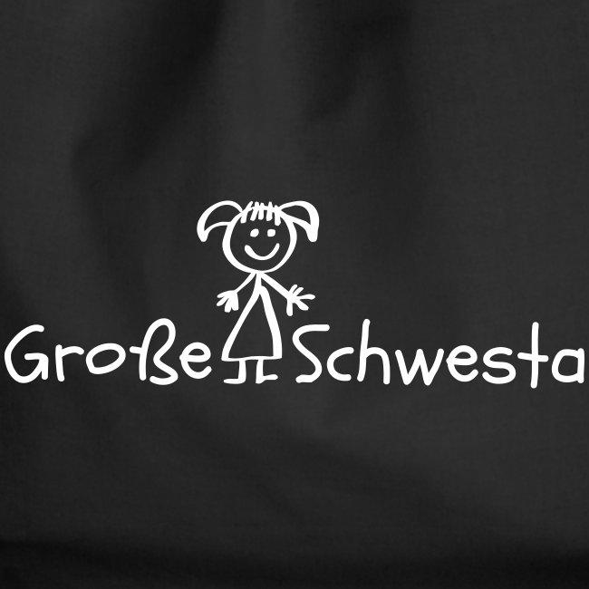 Vorschau: Grosse Schwesta - Turnbeutel