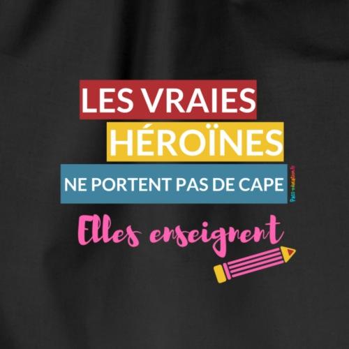Les vraies héroines ne portent pas de cape - Sac de sport léger