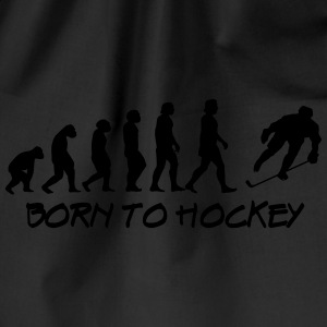 born to hockey - Gymnastikpåse