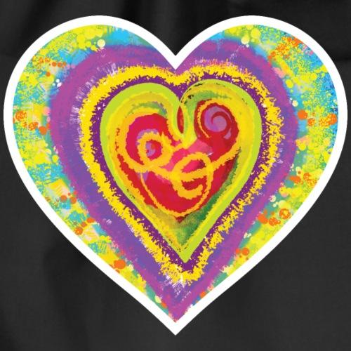 Life is a colorful circus - Drawstring Bag