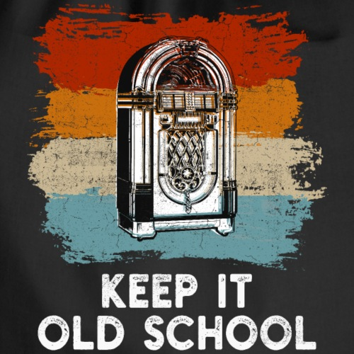 Jukebox - Keep it old school - Turnbeutel