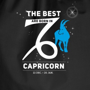 Capricorn Capricorn horoscope birthday best born - Drawstring Bag