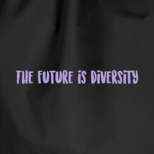 The future is diversity - Mochila saco