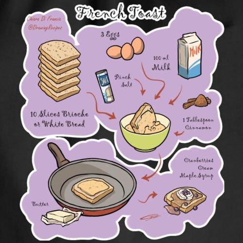 French Toast - Drawstring Bag