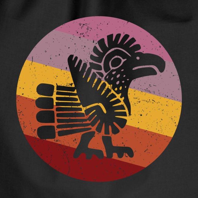 Navajo Style Turkey Retro