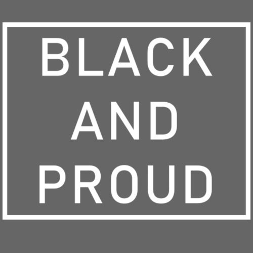 Black and Proud - Turnbeutel