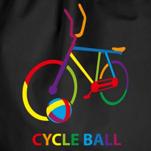 Radball | Cycle Ball Rainbow - Turnbeutel