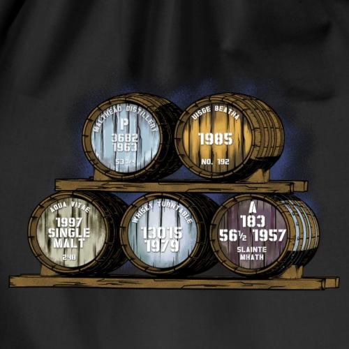 Whisky Fässer - Whisky Fan Shirt Whisky Turntable - Turnbeutel