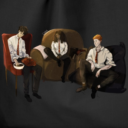 Golden Trio - Drawstring Bag