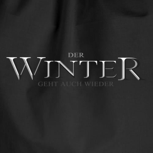 Der Winter Geht - Turnbeutel