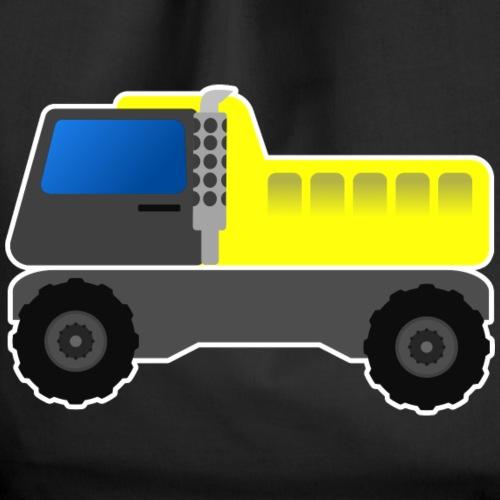 Lastwagen Kinder, Geschenkidee - Turnbeutel