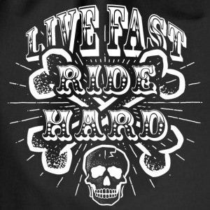 Live Fast Ride Hard! - Gymbag