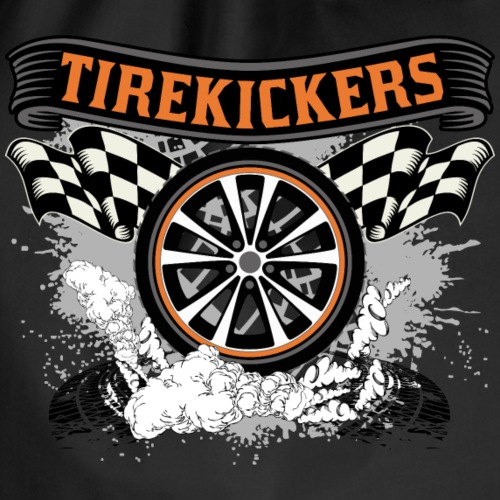Tirekickers – Wheel ans Racing Flags - Turnbeutel