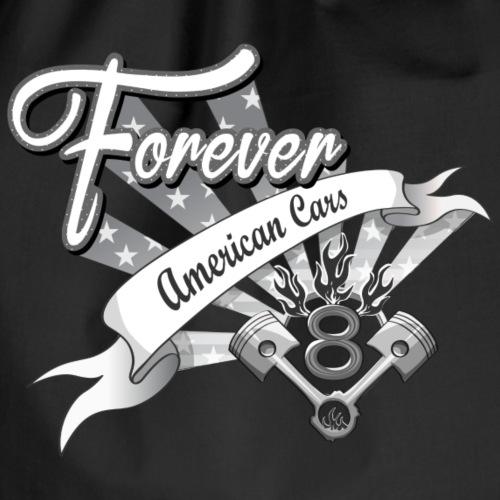 Forever American Cars - Gymnastikpåse