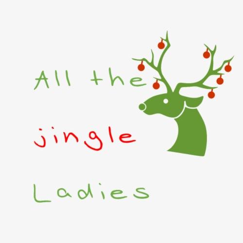 All the jingle Ladies - Turnbeutel
