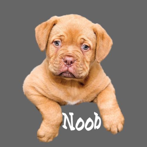 Mops Noob Hunde Spruch - Turnbeutel