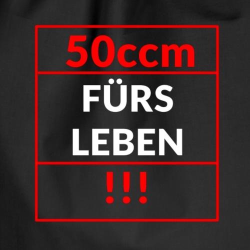 50ccm Fürs Leben - Turnbeutel