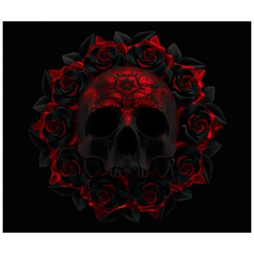 the skull - Mochila saco