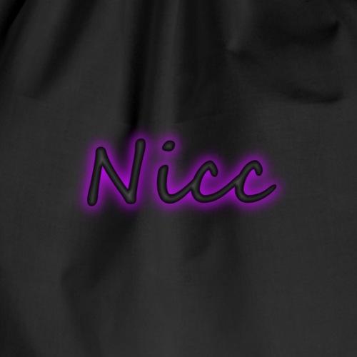 Nicc Schrieft - Turnbeutel