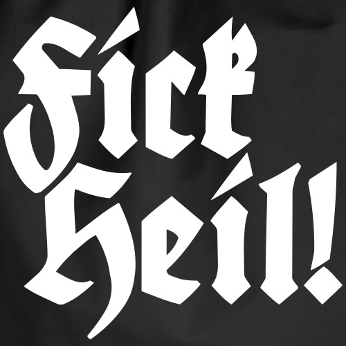 Fick Heil - Turnbeutel