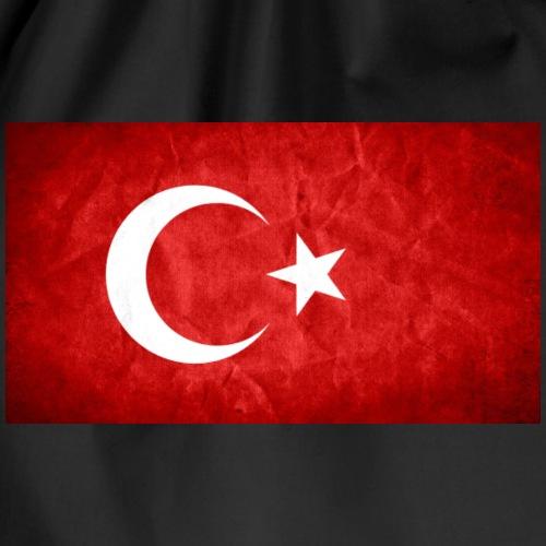 Türkei Flagge - Turnbeutel