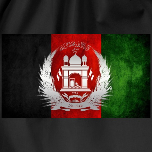 Afghanistan Flagge - Turnbeutel