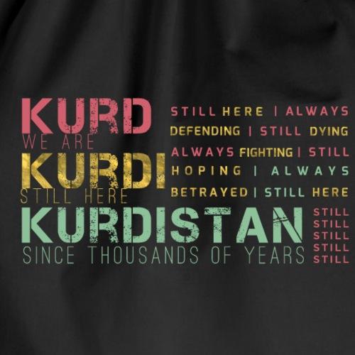 Still Kurds alive - Drawstring Bag