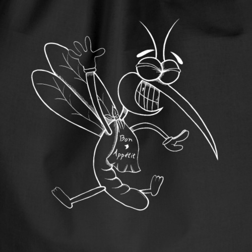 Mosquito Blanco - Mochila saco