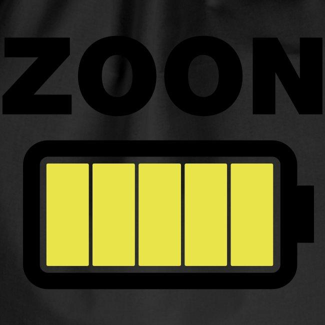 Batterij zoon vol
