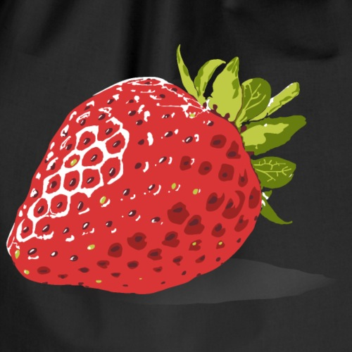 Strawberry - Drawstring Bag