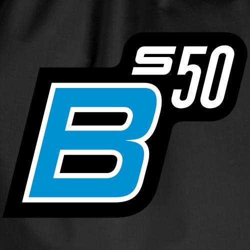 S50 B logo (v2) - Drawstring Bag
