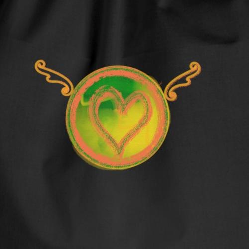 Heart flying - Turnbeutel