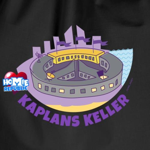 Kaplans Keller Gebietsmotiv - Turnbeutel